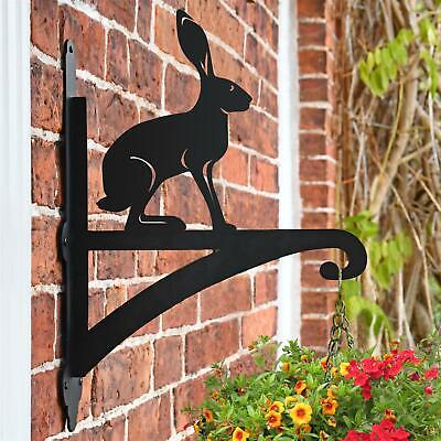 Hare Iron Hanging Basket Bracket