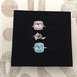 10K white gold rings ($90 and up)