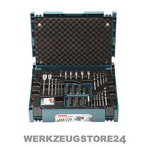 Makita B-49638 Bohrer-Bit-Set 69.-tlg. | Holzbohrer Metallbohrer Steinbohrer