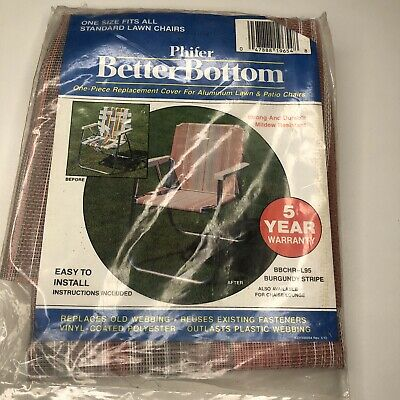 Phifer Better Bottom One Piece Replacement Cover Lawn Chair New BBCHR-L95 Set