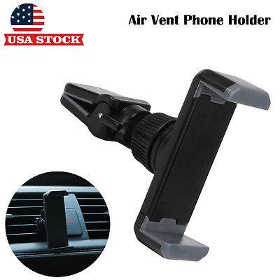 Universal 360° Rotating Car Air Vent Mount Cradle Holder For Cell Phone GPS FG