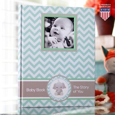 Baby Memory Book - Newborn Journal - Baby First Year Book Album - Baby