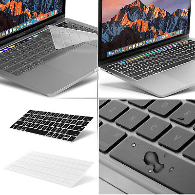 "US Keyboard Cover Skin for Macbook Pro 13/15"" with/out Touch Bar 2016-2017-2018"