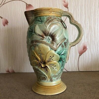 WADE HEATH ART DECO FLOWER VASE JUG MODEL 771 FAIR CONDITION for sale  Shipping to Ireland