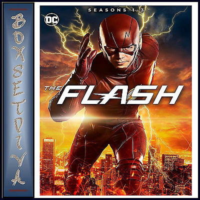 The Flash   Complete Seasons 1 2   3   Dc The Flash  Brand New Dvd