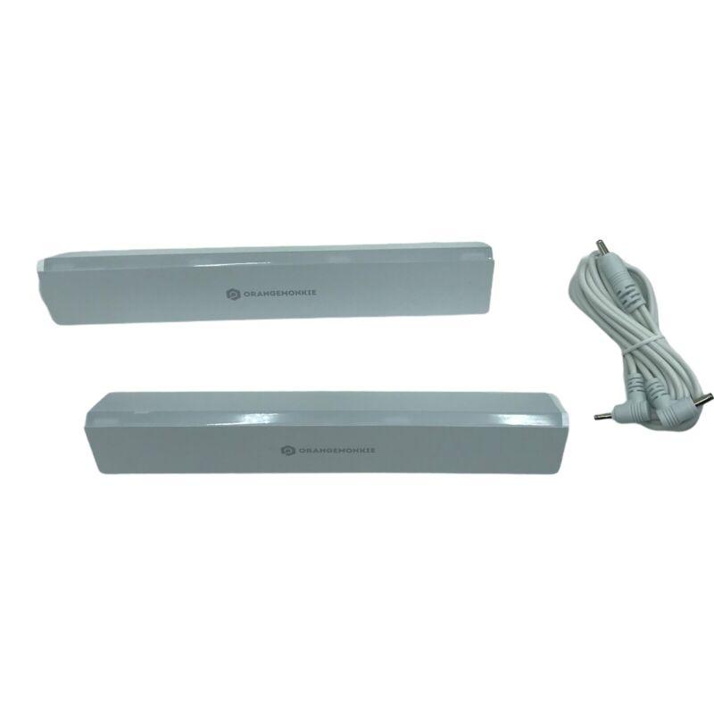 OrangeMonkie Halo-Bar Attachable Lighting Bar, 2 Pack #M2100R