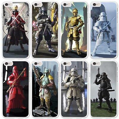 Star Wars iPhone Case for Phone Range 4 4s 5 5s 5c 6 6s 7 8 Star Wars Samurai