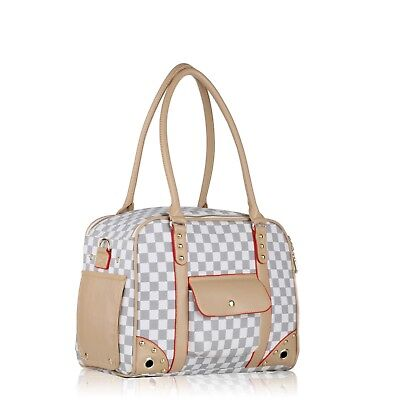 Pet Carrier Small Soft Tote Purse Cat Dog Puppy Travel Airline Approved Handbag