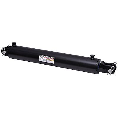 Hydraulic Cylinder Welded Double Acting 4 Bore 18 Stroke Clevis End 4x18 New