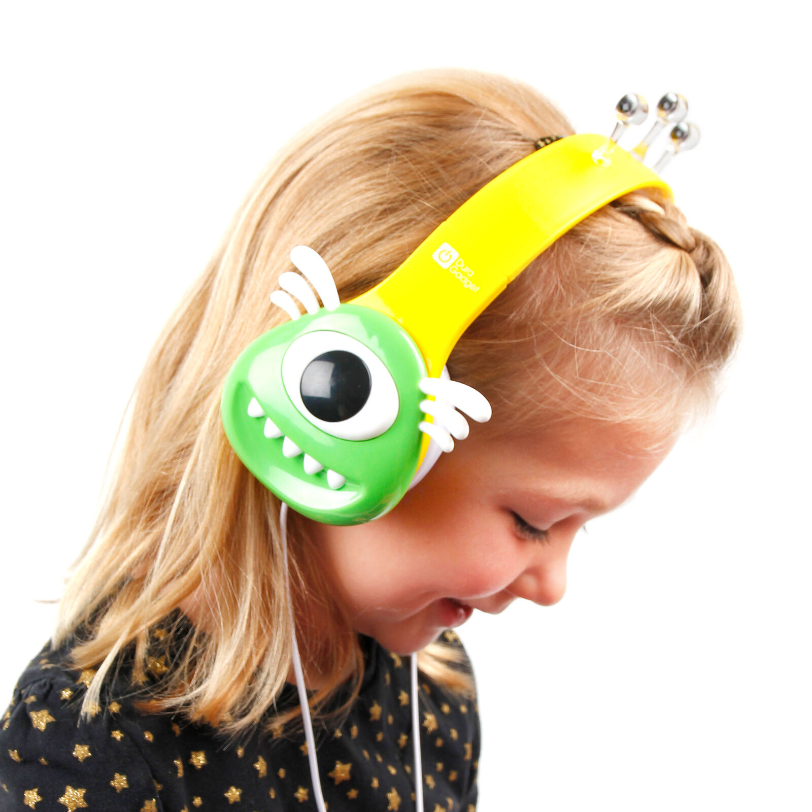Kids Monster Headphones For Kurio Tablets (7 &Roid, 4x,7x,7s, 10s, Tab Xl,touch)