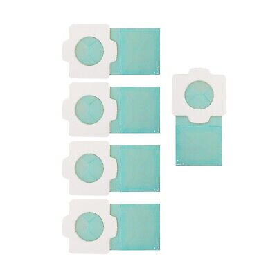 5x Makita Papierfilter f Akku-Sauger DCL182 BCL182 BCL142 CL102 CL072 CL 107 194