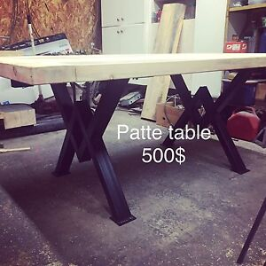 Patte de table