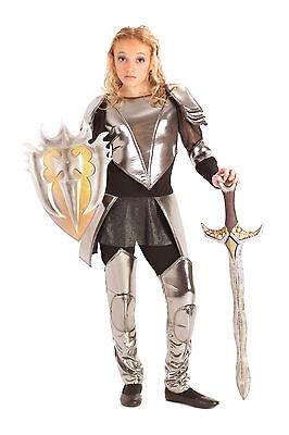 Tween Snow White Costume (Warrior Snow Knight Armor Mulan Joan of Arc Costume 8 9 10 12 14 16 TWEEN)