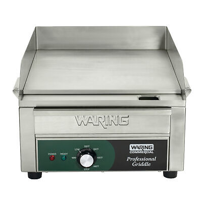 Waring Wgr140x Countertop Electric Griddle 14x 16 Cooking Surface 120v