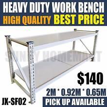 New Heavy Duty Steel Work Bench Garage Warehouse Storage Racking Richlands Brisbane South West Preview