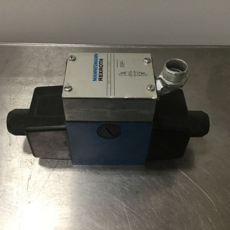 Rexroth 4WE10G31/CW110N9DA Hydraulic Solenoid Valve G Spool for D05 Subplate
