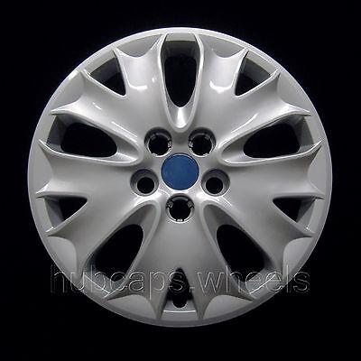 """Ford Fusion 2013-2014 Replica Hubcap - 16"""" Silver"""