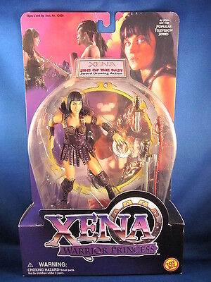 Xena Warrior Princess Xena Sins Of The Past Black Outfit Action Figure