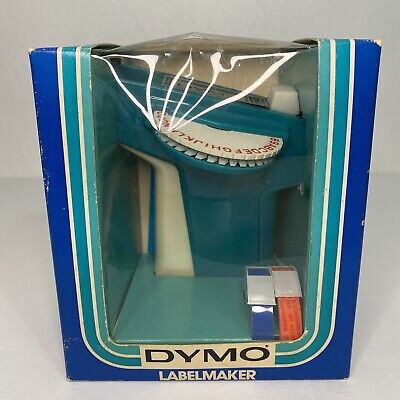 New In Box Dymo Model 1720 Labelmaker Incs 2- 38x 3 Tapes Hand Held Vintage