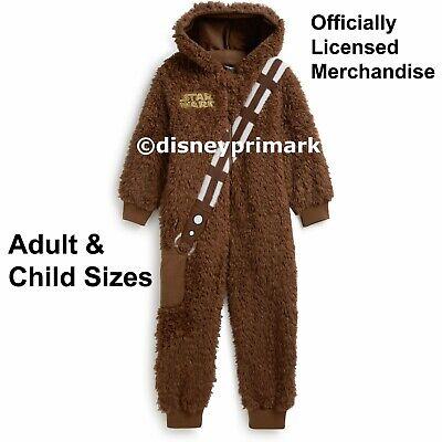 Chewbacca Onesie Adults (OFFICIAL Adult / Child CHEWBACCA ONESY Star Wars Pyjama Costume PJ Sleepsuit)