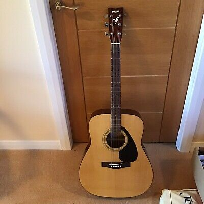Yamaha F310 Solid Wood Topped Acoustic Guitar - Natural. With Free Gigbag