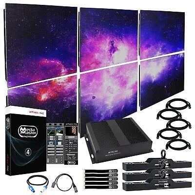 ADJ AV6XS 6mm 3x2 LED Video Wall System + Software W/ Processor