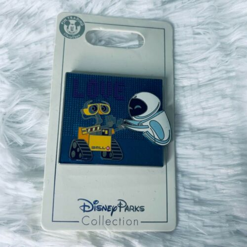 Disney Parks Wall-E and Eve LOVE Pin