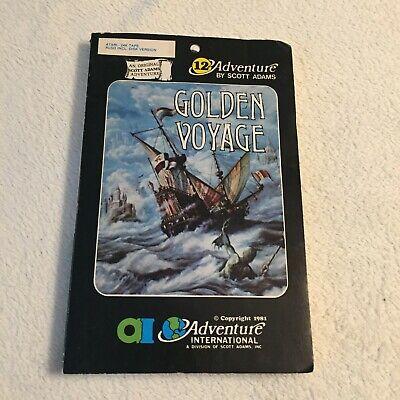 Golden Voyage - Scott Adams Adventure International - Atari - Very Rare
