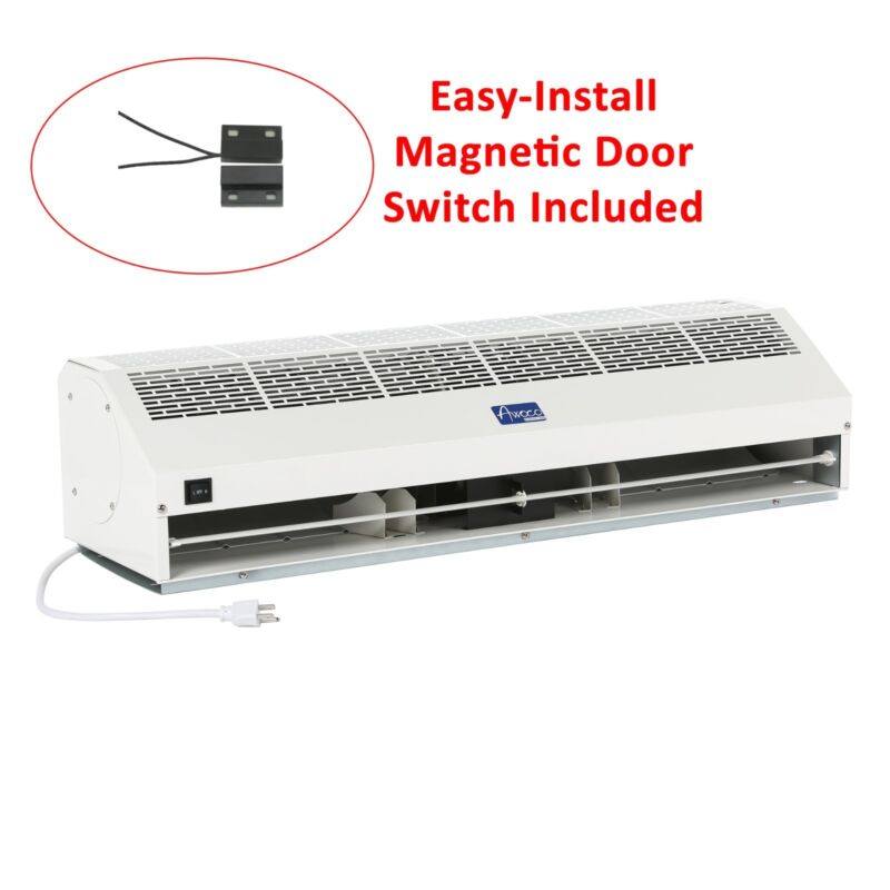48 and 60 Inch Commercial Air Curtain w// Heavy DutyDoor Switch 39 36 115V