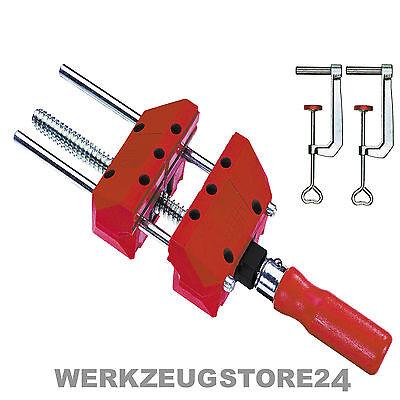 BESSEY Schraubspanner S10-ST inkl. 2x TK6 Tischklemmen Schraubzwinge