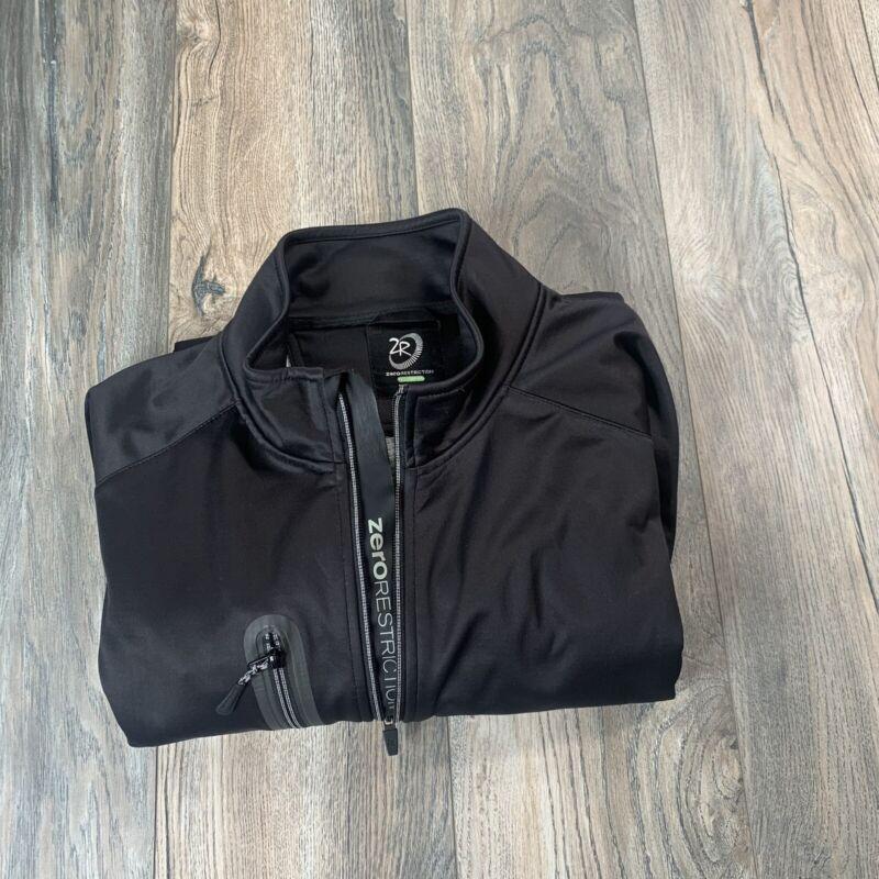 Zero Restriction Full Zip Tour Series Fleece & Mesh Lining Jacket Mens Size XL