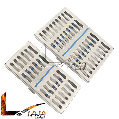 Sterilization Cassette Rack For 7 10 Instruments Autoclave Surgical Trays