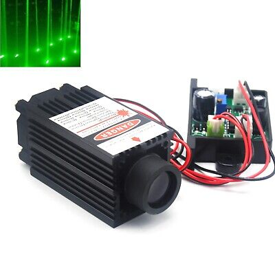532nm 100mw Green Thick Beam Dot Stage Light Laser Diode Module 12v Driver Fan
