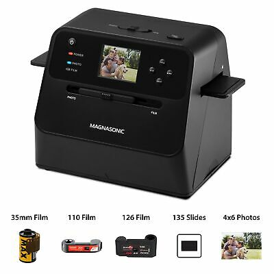 Magnasonic Film & Photo Scanner Converts Photo, Film & Slides into Digital JPEGs