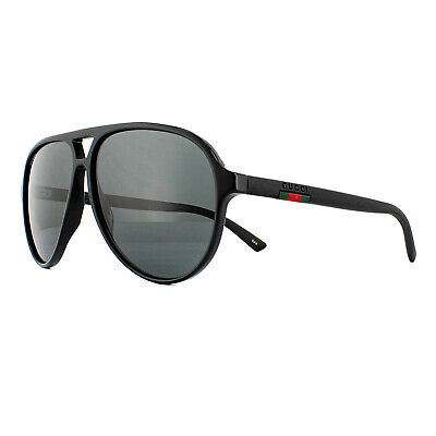 Gucci Sunglasses GG0423S 007 Black Grey