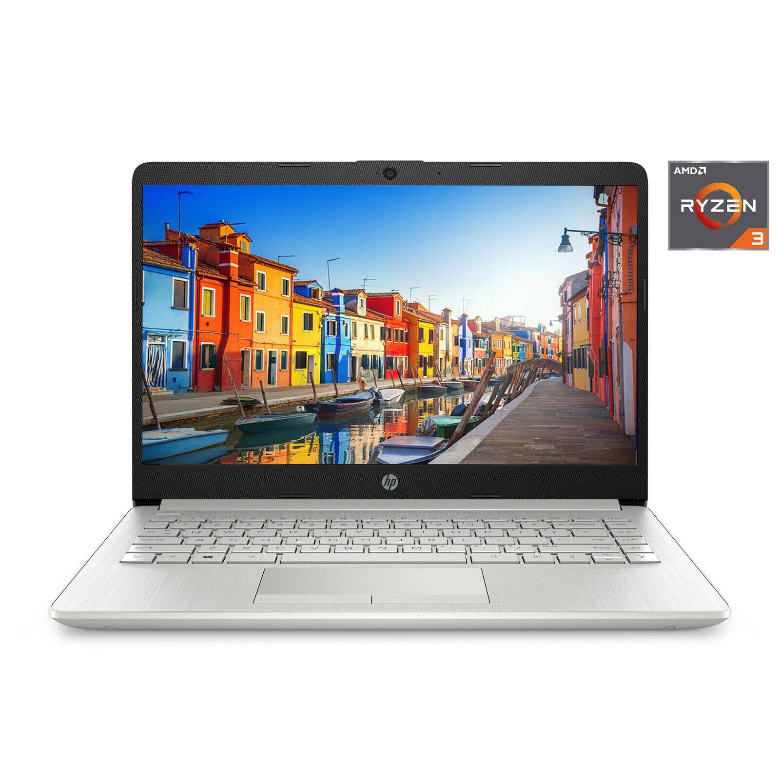 "Laptop Windows - NEW HP 14"" HD AMD Ryzen 3 3.5GHz 4GB ✨ 1TB ✨ HDD Radeon Vega 3 Windows 10 Laptop"