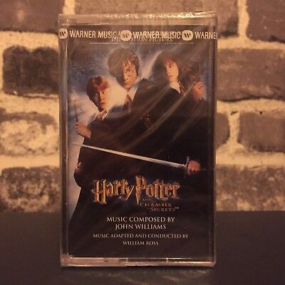 Harry Potter and the Chamber of Secrets Soundtrack OST Cassette Tape