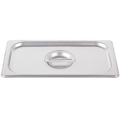 4 Pack 13 Size Pan Lid Stainless Steel Steam Hotel Prep Table Food Cover New