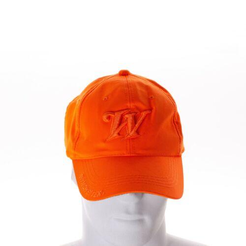 Winchester W Logo Hat Cap Hunter Safety Orange Adjustable