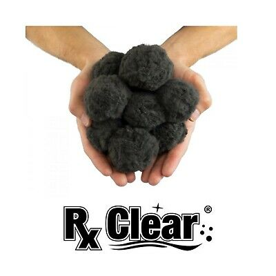 Rx Clear Luster Eco-Friendly Black Media For Swimming Pool Sand Filters - 50 lbs