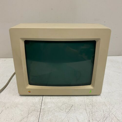 1989 AppleColor RGB Monitor A2M6014 for Apple IIgs - Tested Working VINTAGE #2