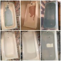 Old tub tiles sinks Clawfoot Bathtub Refinishing Sinks