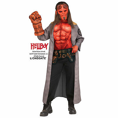 Hellboy 2019 Officially Licensed Child Boys Halloween Costume Mask Hand of