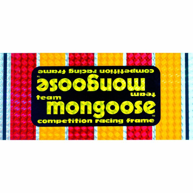 1980-83 Team Mongoose decal set