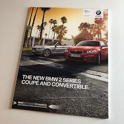BMW 2 Series Coupe & Convertible Sales Brochure