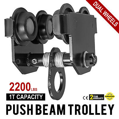 1 Ton Push Beam Trolley For I Beam Gantry Crane Hoist Winch Shop