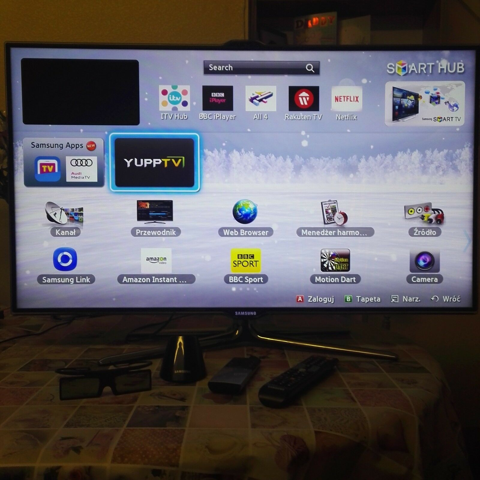 Smart TV Samsung 3D Full HD UE40ES700 great condition