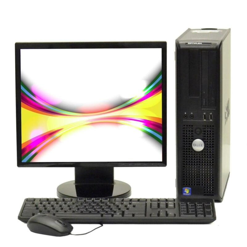 desktop computer with monitor ebay. Black Bedroom Furniture Sets. Home Design Ideas