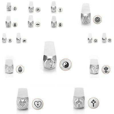 - Metal Jewelry Design Stamps by ImpressArt (SPIRITUAL) 6mm