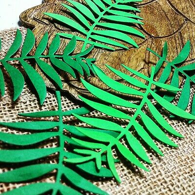 Jungle Safari Birthday party supplies 20CT Tropical Party Wedding Fern Confetti (Jungle Birthday Supplies)